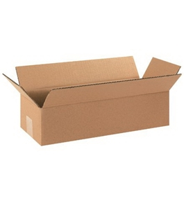 "16"" x 6"" x 4"" Long Corrugated Boxes (Bundle of 25)"