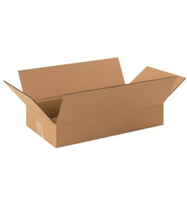 "16"" x 9"" x 3"" Long Corrugated Boxes (Bundle of 25)"