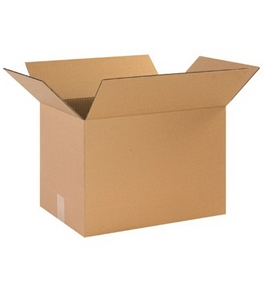"17"" x 12"" x 12"" Corrugated Boxes (Bundle of 25)"
