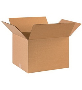 "17"" x 14"" x 12"" Corrugated Boxes (Bundle of 25)"