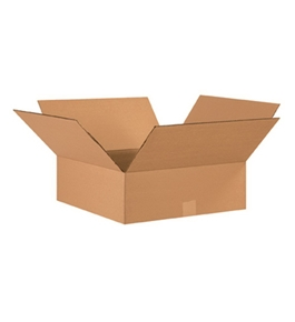 "17"" x 17"" x 6"" Corrugated Boxes (Bundle of 20)"