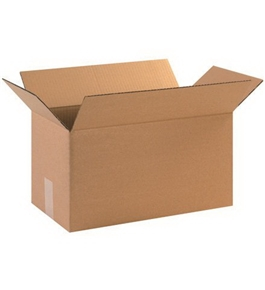 "17"" x 9"" x 9"" Long Corrugated Boxes (Bundle of 25)"