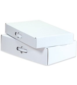 "18 1/4"" x 11 3/8"" x 4 1/2"" Corrugated Carrying Cases (10 Each Per Bundle)"