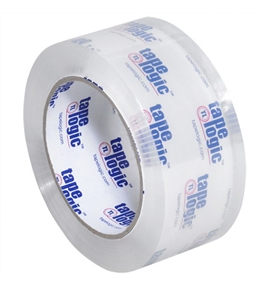 "2"" x 110 yds. Crystal Clear (12 Pack) Tape Logic™ #200CC Tape (12 Per Case)"