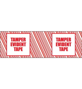"2"" x 110 yds. ""Tamper Evident"" Print (6 Pack) Tape Logic™ Security Tape (6 Per Case)"