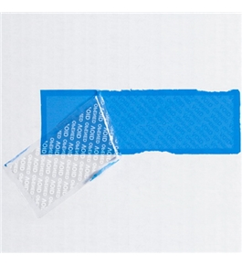 "2"" x 5 3/4"" Blue Tape Logic™ Security Strips on a Roll (24 Per Case)"