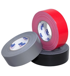 "2"" x 60 yds. Black 10 Mil Cloth Duct Tape (24 Per Case)"