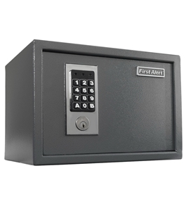 First Alert 2073F Anti-Theft Safe with Digital Lock, 0.62-Cubic Foot