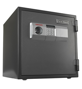 First Alert 2084DF 1 Hour Steel Fire Safe with Digital Lock, 1.2 Cubic Foot