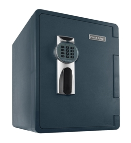 First Alert 2096DF Waterproof Fire Safe with Digital Lock, 2.14 Cubic Foot
