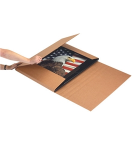 "22"" x 18"" x 6"" Kraft Jumbo Mailers (20 Each Per Bundle)"