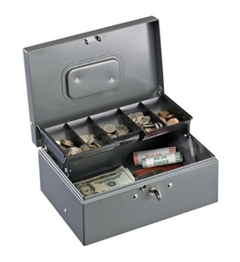 MMF Cash Box with Cantilever Tray