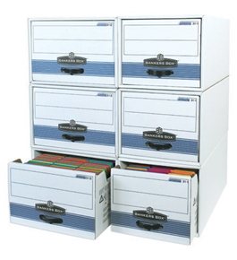 "24"" x 12"" x 10"" STOR/DRAWER® STEEL PLUS™ File Storage Drawers (6 Each Per Case)"