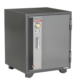 First Alert 2575F 2 Hour Steel Fire Safe with Combination Lock, 2.77 Cubic Feet