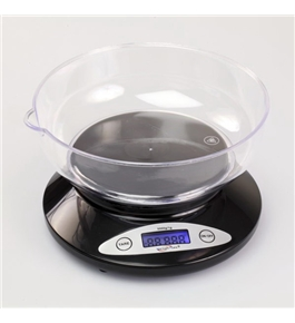 WeighMax 2810-2kg-Black Electronic Kitchen Scale