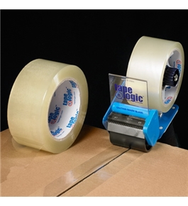 "3"" x 55 yds. Clear (6 Pack) Tape Logic™ 3.5 Mil Acrylic Tape (6 Per Case)"