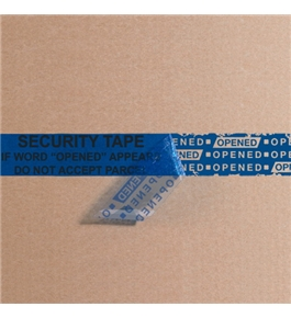 "3"" x 60 yds. Blue Tape Logic™ Secure Tape (24 Per Case)"