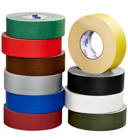 "3"" x 60 yds. White 11 Mil Gaffers Tape (16 Per Case)"