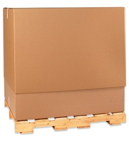 "36 1/2"" x 36 1/2"" x 40"" Telescoping Outer Boxes (5 Each Per Bundle)"