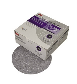 "3M 01815 Hookit Purple 6"" P500C Grit Clean Sanding Disc, (Box of 50)"
