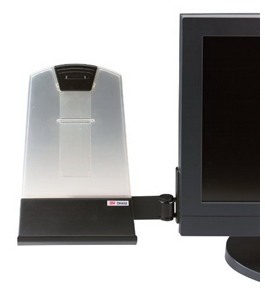 3M Flat Panel Mounted Copy Holder, 35 Sheet Capacity (DH445)