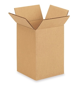 "4"" x 4"" x 6"" Corrugated Boxes (Bundle of 25)"