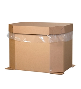 "46"" x 38"" x 24"" Triple Wall Octagon Bulk Bins (5 Each Per Bundle)"