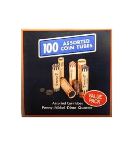 Value Pack Preformed Coin Wrappers