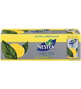 Nestea Lemon Iced Tea 12 , 12 Cans, Pack of 2