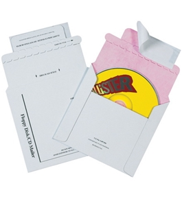 "5 1/8"" x 5"" Tyvek® Lined CD Mailers (100 Per Case)"