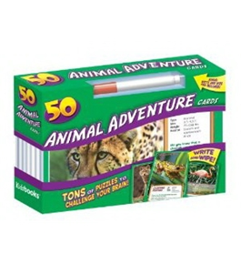 50 Cards Animal Adventure by Kidsbooks