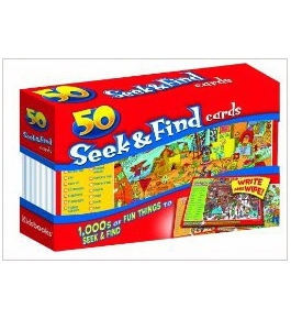 50 Cards Seek & Find [Mass Market Paperback] [Mar 01, 2010] Kidsbooks