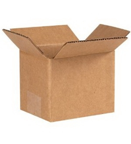 "5"" x 4"" x 4"" Corrugated Boxes (Bundle of 25)"