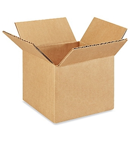 "5"" x 5"" x 4"" Corrugated Boxes (Bundle of 25)"
