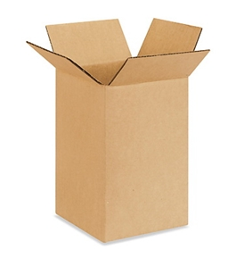 "5"" x 5"" x 8"" Corrugated Boxes (Bundle of 25)"
