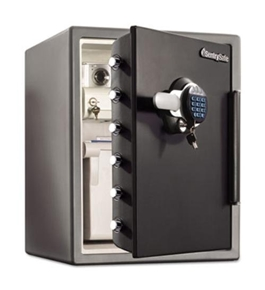 Sentry Safe Water Resistant Digital Electronic Lock Fire Safe 2.05 CuFt