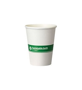 Sustainable Earth By Staples Compostable Hot Cups, 50/pack