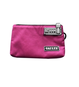 5x8 Locking Zipper Pouch - Pink - Vaultz - VZ00471