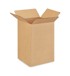 "6"" x 6"" x 10"" Tall Corrugated Boxes (Bundle of 25)"