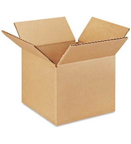 "6"" x 6"" x 5"" Corrugated Boxes (Bundle of 25)"