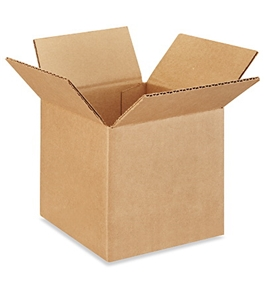 "6"" x 6"" x 6"" Corrugated Boxes (Bundle of 25)"