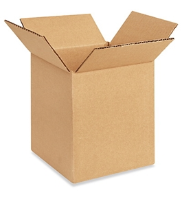 "6"" x 6"" x 7"" Corrugated Boxes (Bundle of 25)"