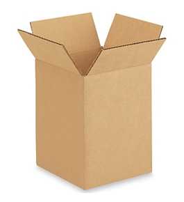 "6"" x 6"" x 8"" Corrugated Boxes (Bundle of 25)"