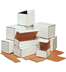 "7"" x 7"" x 6"" Corrugated Mailers (50 Each Per Bundle)"