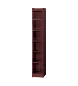 "72"" H Veneer Baby Bookcase Finish: Mahogany"
