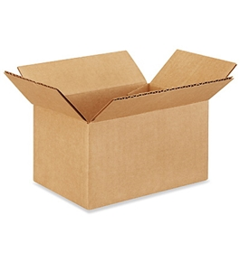 "7"" x 5"" x 4"" Corrugated Boxes (Bundle of 25)"