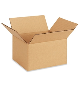 "7"" x 6"" x 4"" Corrugated Boxes (Bundle of 25)"