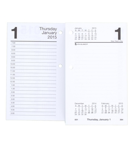 AT-A-GLANCE Daily Desk Calendar Refill 2015, 3.5 x 6 Inch Page Size