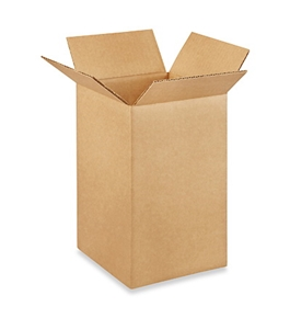 "7"" x 7"" x 12"" Tall Corrugated Boxes (Bundle of 25)"