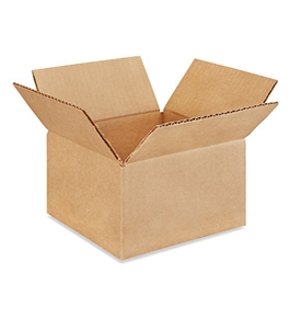 "7"" x 7"" x 4"" Corrugated Boxes (Bundle of 25)"